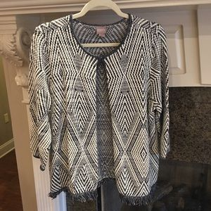 SO CHIC! Chico's Sweater Jacket